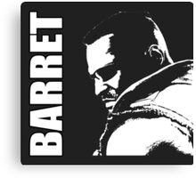 Barret - Final Fantasy VII Canvas Print