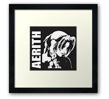 Aerith - Final Fantasy VII Framed Print
