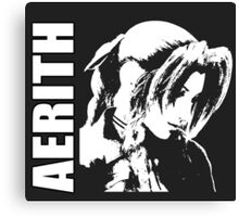 Aerith - Final Fantasy VII Canvas Print