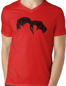 Drogon (BLACK) - PyramidGFX Mens V-Neck T-Shirt