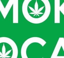 Colorado Smoke Local CO Green Sticker