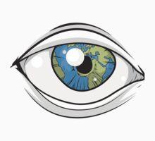 Earth iris One Piece - Short Sleeve