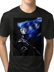 Brandon Lee as the Crow Tri-blend T-Shirt