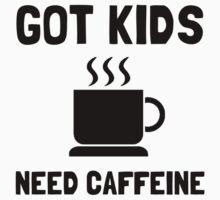 Got Kids Caffeine One Piece - Long Sleeve