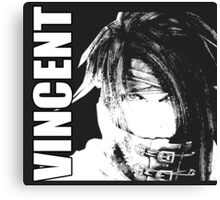 Vincent - Final Fantasy VII Canvas Print