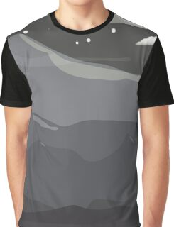 Midnight Mountains Graphic T-Shirt