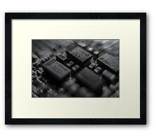 chipset Framed Print