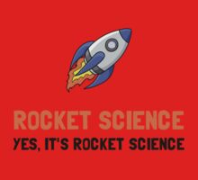 Rocket Science Baby Tee