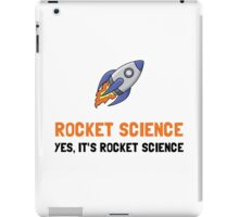 Rocket Science iPad Case/Skin