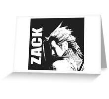 Zack - Final Fantasy VII Greeting Card