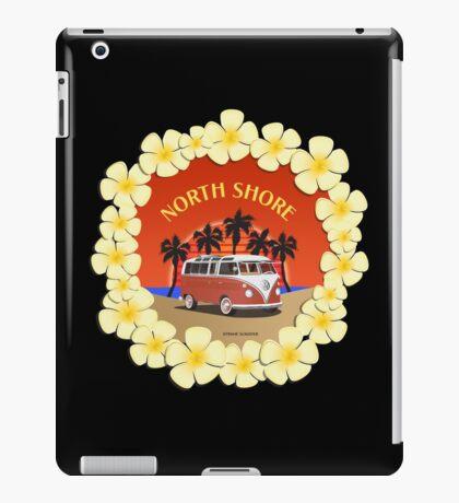 21 Window VW Bus Red Surfboard North Shore iPad Case/Skin
