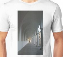 White Colonnade Unisex T-Shirt