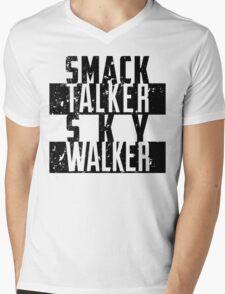 Smack Talker Skywalker Mens V-Neck T-Shirt