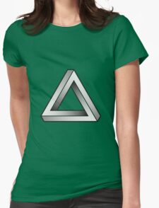 Impossible Triangles Womens Fitted T-Shirt