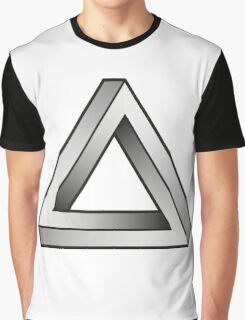 Impossible Triangles Graphic T-Shirt