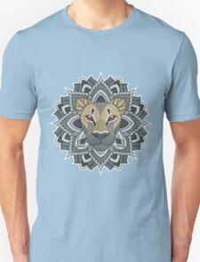 Mandala Lion Unisex T-Shirt