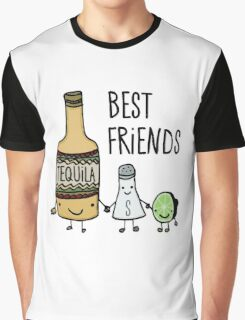 Tequila - Best Friends Graphic T-Shirt