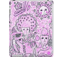 doodles in marker iPad Case/Skin