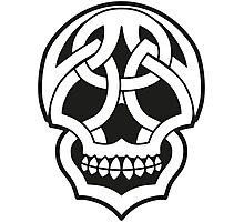 Tribal Skull Photographic Print
