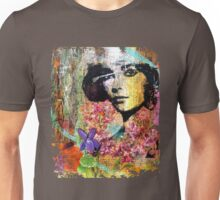she had violet eyes Unisex T-Shirt