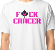 F*CK CANCER (white) Classic T-Shirt
