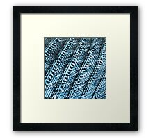 Ridges Framed Print