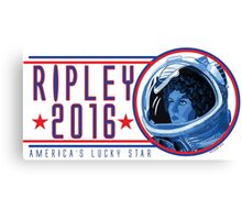 RIPLEY FOR PRESIDENT 2016 Canvas Print
