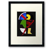 YJ Emblem Framed Print