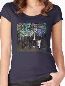 duran duran paper gods Women's Fitted Scoop T-Shirt