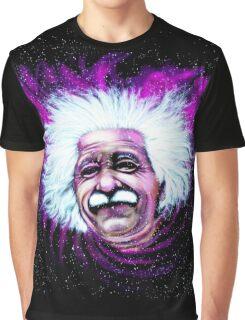 Albert Einstein Space Graphic T-Shirt