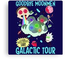 Goodbye Moonmen Galactic tour Rick Collage Canvas Print