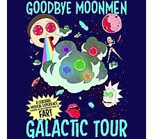 Goodbye Moonmen Galactic tour Rick Collage Photographic Print