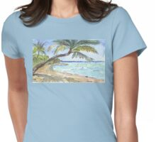 Mauritius splendour Womens Fitted T-Shirt