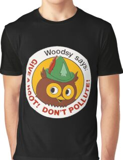 Give a Hoot!  Graphic T-Shirt