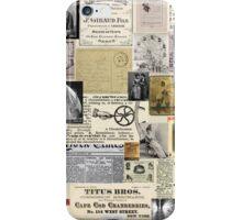 Victorian  Steam Punk Splash iPhone Case/Skin
