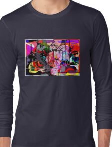 Abstract Madness 1 Long Sleeve T-Shirt