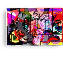 Abstract Madness 1 Canvas Print