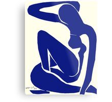 In the style of Matisse Metal Print