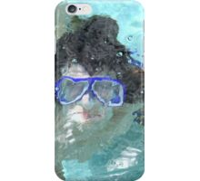 Face Under Water iPhone Case/Skin