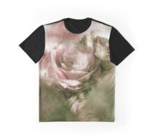 Heart Of A Rose - Antique Pink Graphic T-Shirt