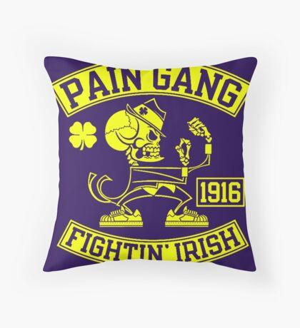 Pain Gang Fightin Irish Throw Pillow