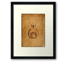 Steam punk abstract Framed Print