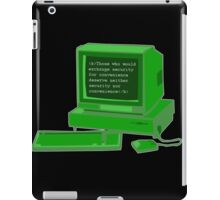 Brute Force iPad Case/Skin