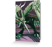 Nova Dragon - Final Fantasy IX Greeting Card