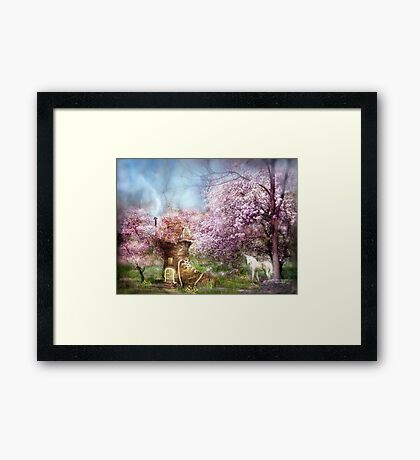 Once Upon A Springtime Framed Print