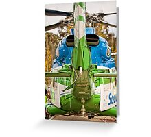 Helicopter (1) Greeting Card