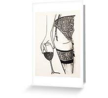 Seduction  Greeting Card