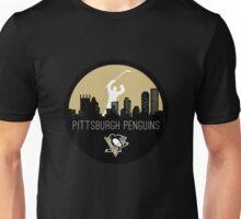 Pittsburgh Penguins Hockey (with skyline) Unisex T-Shirt