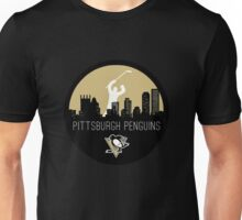 Pittsburgh Penguins Hockey (with skyline) Unisex T-Shirt