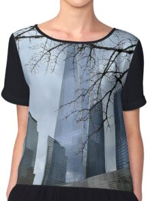 Freedom Tower Chiffon Top